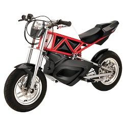 Razor RSF650 Electric Street Bike - Black/Red, Red Black