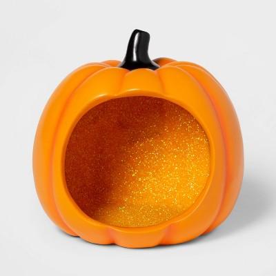 Pumpkin Diorama Halloween Fairy Garden Container Orange - Hyde & EEK! Boutique™