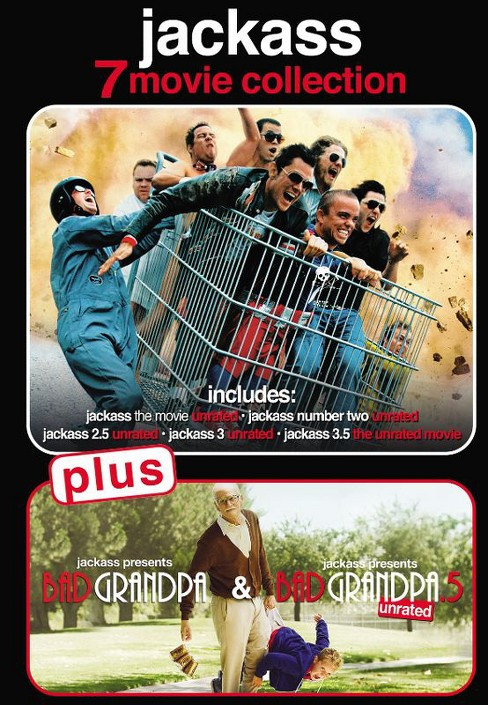 Jackass 7-Movie Collection (DVD) - image 1 of 1