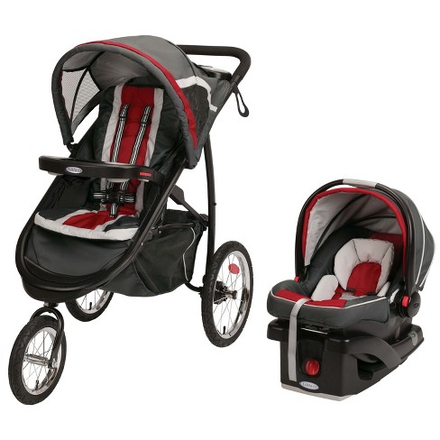 Graco® FastAction®  Jogger Click Connect™  Travel System - image 1 of 9