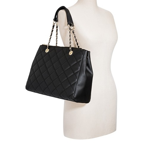 Women s Quilted Tote Handbag - Mossimo™   Target e8a1492eb2