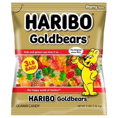 Gummy Candies: Haribo Gold Bears