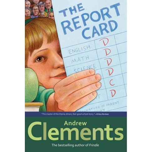 The Report Card - by  Andrew Clements (Paperback) - image 1 of 1