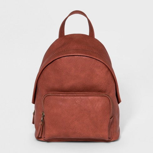 Mini Dome Backpack - Universal Thread™ Cognac - image 1 of 4