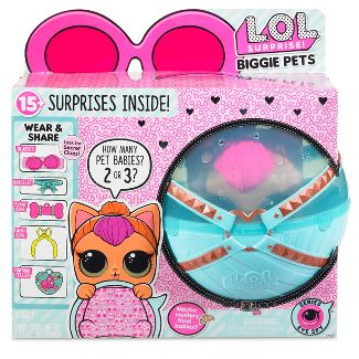 L.O.L. Surprise! Biggie Pet- Neon Kitty