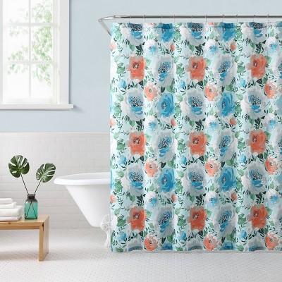 Mina Floral Shower Curtain - Freshee