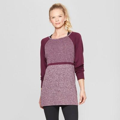 423caf0cb Women's Seamless Long Sleeve Top - C9 Champion® Dark Berry Purple XXL