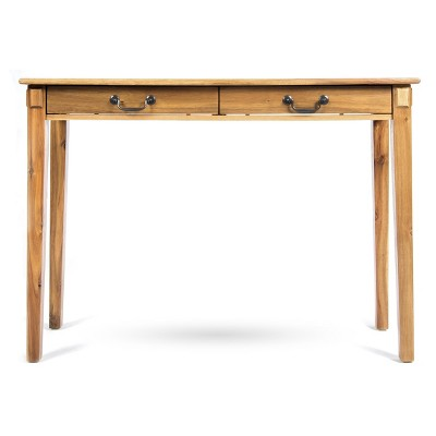 Celia Classic Acacia Wood Console Table Natural - Christopher Knight Home