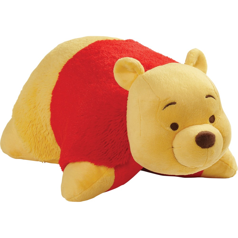 "Image of ""Disney Winnie the Pooh 16"""" Pillow Pet Red"""