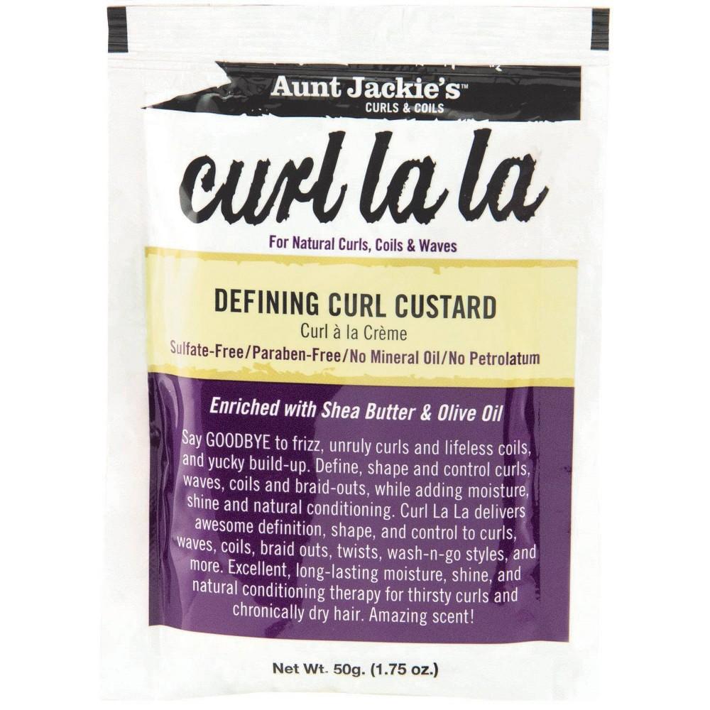 Aunt Jackie's Curl La La Defining Curl Custard - 1.75oz
