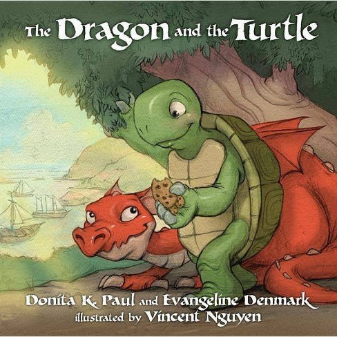 The Dragon and the Turtle - by  Donita K Paul & Evangeline Denmark (Hardcover) - image 1 of 1