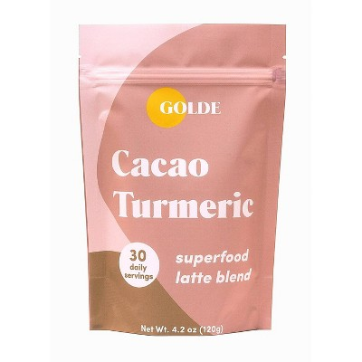 Golde Cacao Turmeric Superfood Latte Blend - 4.2oz