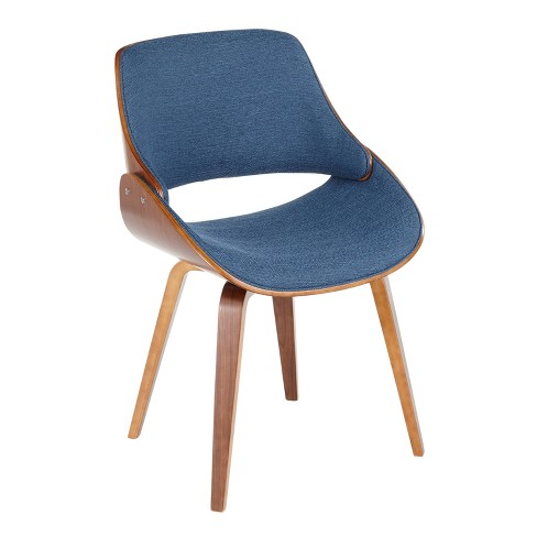 Fabrizzi Mid Century Modern Dining Accent Chair Gray - LumiSource - image 1 of 4