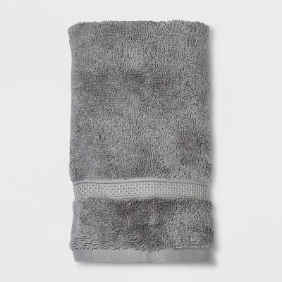 Soft Solid Hand Towel Gray - Opalhouse™