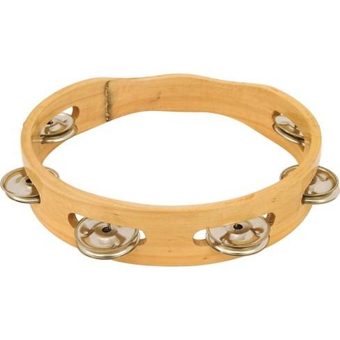 "CP 8"" Headless Single Row Wood Tambourine 8 in - image 1 of 1"
