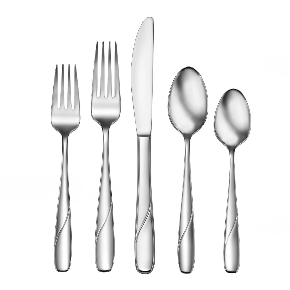 Image of 20pc Stainless Steel Abel Silverware Set - Studio Cuisine