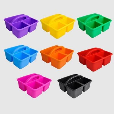 8ct Plastic Supply Caddies - Bullseye's Playground™