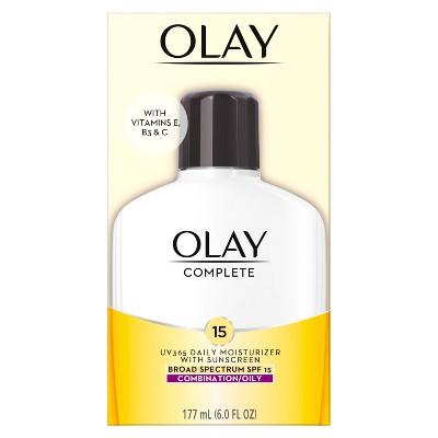 Olay Complete Lotion Moisturizer - Oily Skin - SPF 15 - 6.0 fl oz