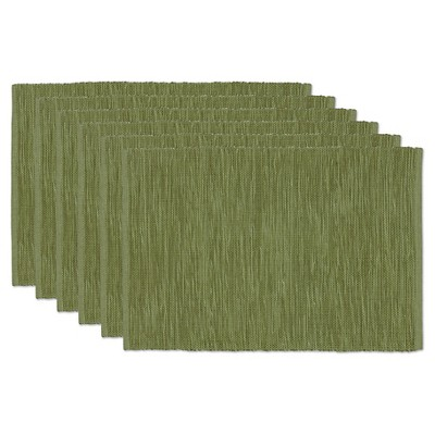 Thyme Tonal Placemats (Set Of 6)- Design Imports