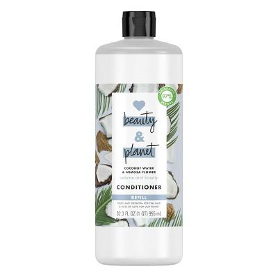 Love Beauty & Planet Coconut Water & Mimosa Flower Volume & Bounty Conditioner Refill - 32.3 fl oz