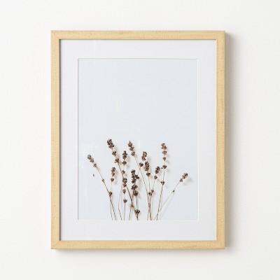 "16"" x 20"" Wildflower Framed Under Glass - Threshold™ designed with Studio McGee"