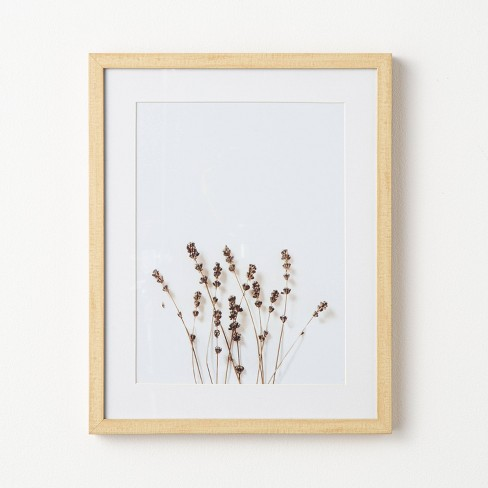 """16"""" x 20"""" Wildflower Framed Under Glass - Threshold™ designed with Studio McGee - image 1 of 4"""