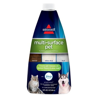 Bissell 32 fl oz Multi Surface Pet Formula Cleaner