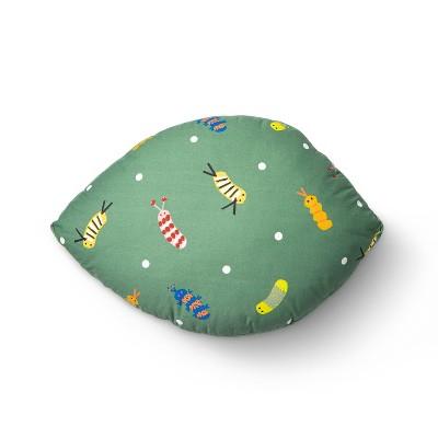 Caterpillar Leaf Floor Pillow - Christian Robinson x Target