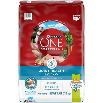 Purina ONE Joint Health Dry Dog Food - 16.5lbs