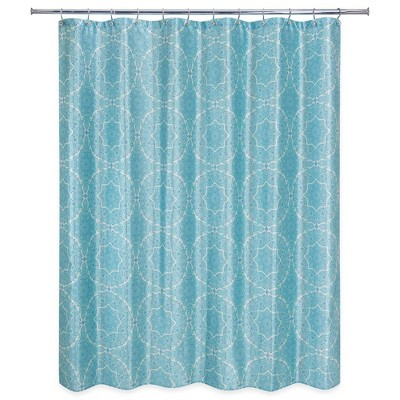 Kaleidoscope Shower Curtain Teal - Allure Home Creation