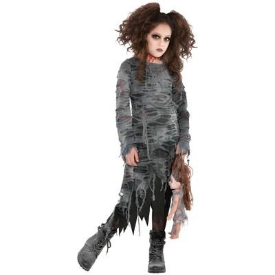 Kids' Undead Walker Girl Halloween Costume