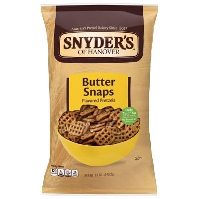 Pretzels: Snyder's Butter Snaps