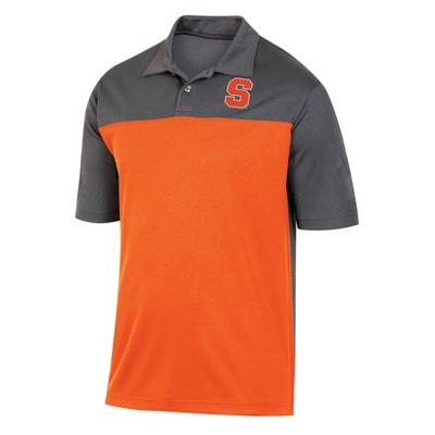 NCAA Syracuse Orange Men's Short Sleeve Polo Shirt