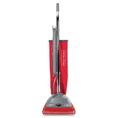 Sanitaire SC688B TRADITION 5 Amp 840-Watt Upright Bagged Vacuum - Red/Gray