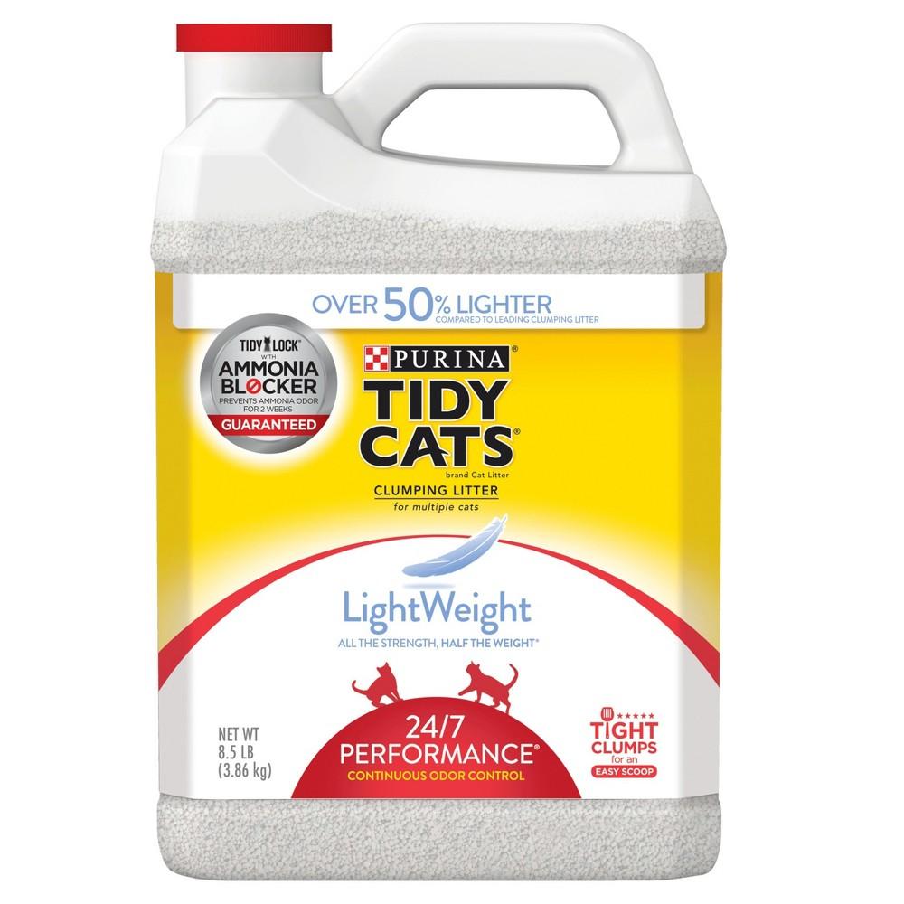 Purina Tidy Cats Lightweight 24/7 Performance Multiple Cats Clumping Litter - 8.5lbs, Antler