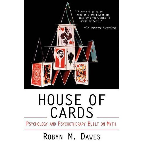 House of Cards - by  Robyn M Dawes (Paperback) - image 1 of 1