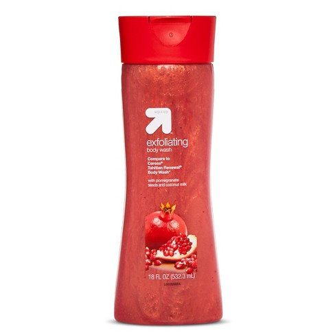 Exfoliating Body Wash with Pomegranate Seeds - 18oz - Up&Up™ (Compare to Caress Tahitian Renewal Body Wash) - image 1 of 1