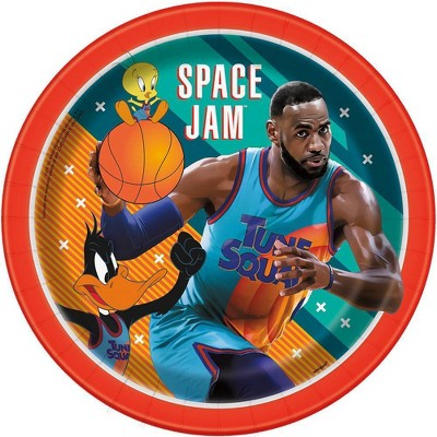 """Space Jam 9"""" 8ct Party Plates"""