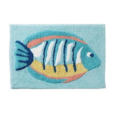 Ocean Watercolor Bath Rug - SKL Home