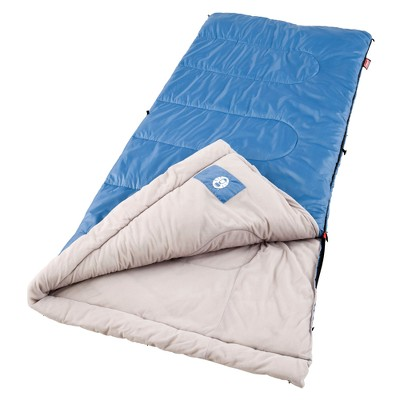 Coleman® Sun Ridge Sleeping Bag - Blue/Gray