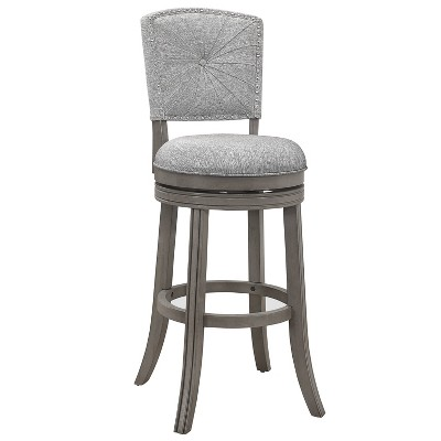 Santa Clara II Swivel Barstool Gray - Hillsdale Furniture
