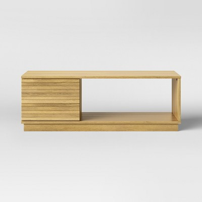Cliffmay Slat Coffee Table Brown   Project 62™