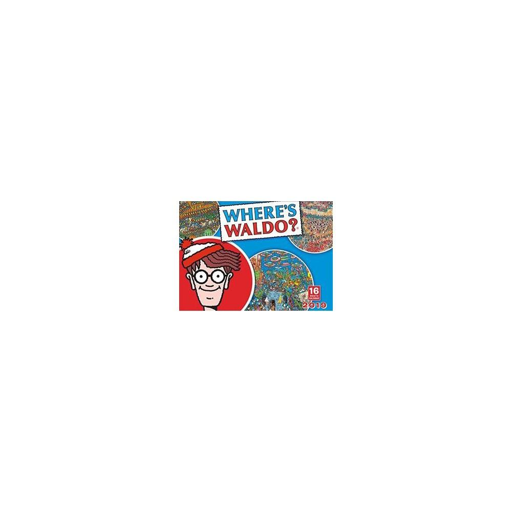 Where's Waldo 2019 Calendar - (Paperback)