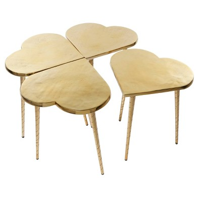 Aluminum Patio Accent Table - Olivia & May