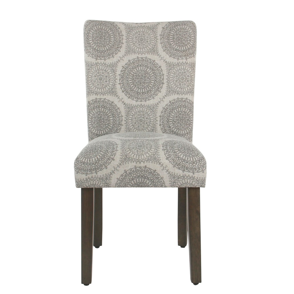 Set of 2 Parsons Dining Chair Light Gray - Homepop was $209.99 now $157.49 (25.0% off)