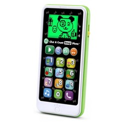 LeapFrog Chat and Count Emoji Phone - Green