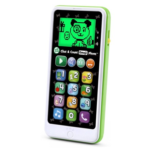 LeapFrog Chat and Count Emoji Phone - Green - image 1 of 4