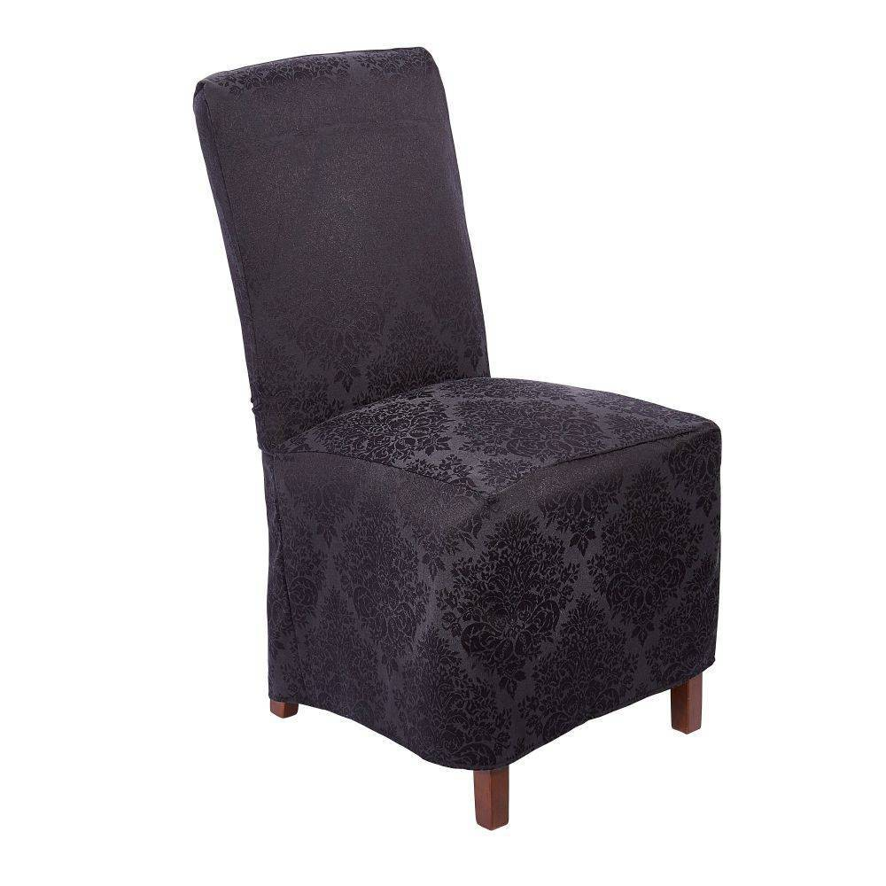 "Image of ""18""""X24"""" Lexington Chaircover Black - Town & Country Living"""