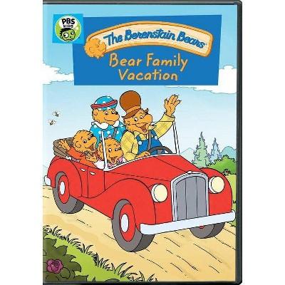 Berenstain Bears: Bear Family Vacation (DVD)(2020)