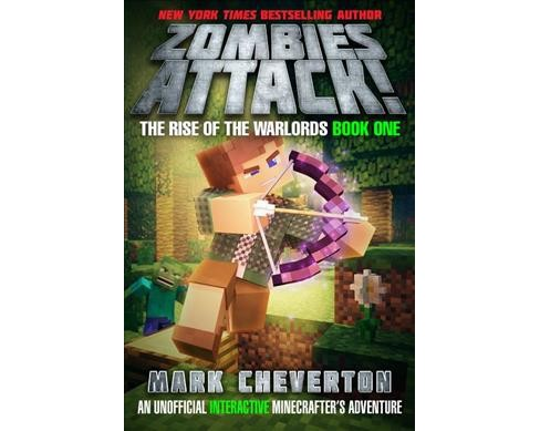 Zombies Attack! -  by Mark Cheverton (Hardcover) - image 1 of 1